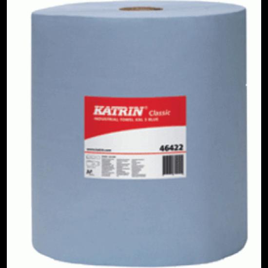 Katrin classic XXL3 ipari tekercses törlőpapír kék 3rtg M38 D29 500lap 190m 2tek/gyűjtő