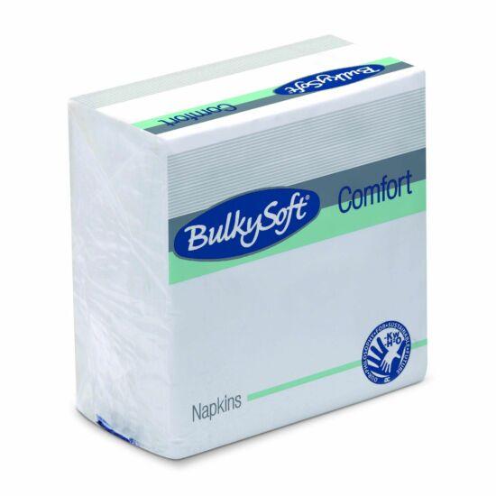 BulkySoft Comfort szalvéta fehér 1rtg 30x30cm 40x100db/gyűjtő