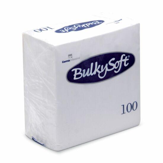 BulkySoft szalvéta fehér 2rtg 24x24cm 20x100db/gyűjtő