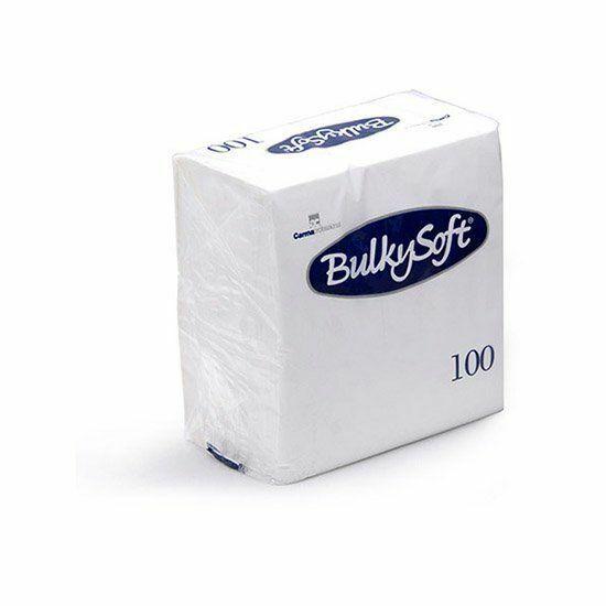 BulkySoft szalvéta fehér 2rtg 24x24cm 30x100db/gyűjtő