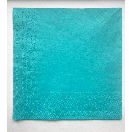 Trend szalvéta 2 rétegű 33x33 cm Caribean blue 750szál/doboz
