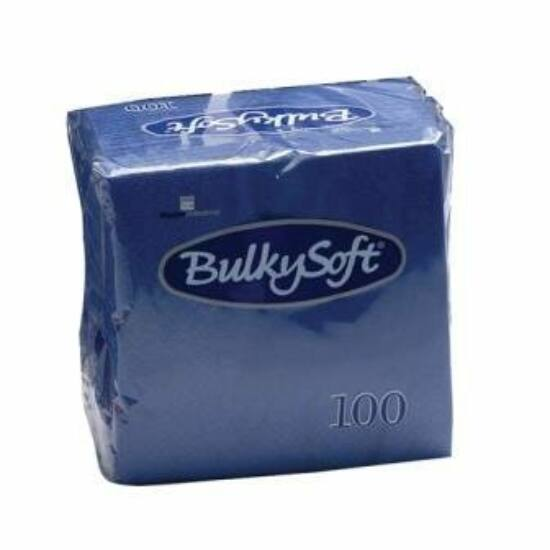 BulkySoft rainbow szalvéta kék 2rtg 33x33cm 20x100db/gyűjtő