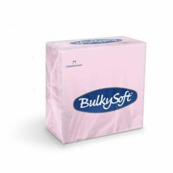 BulkySoft rainbow szalvéta rózsaszín 2rtg 33x33cm 20x100db/gyűjtő
