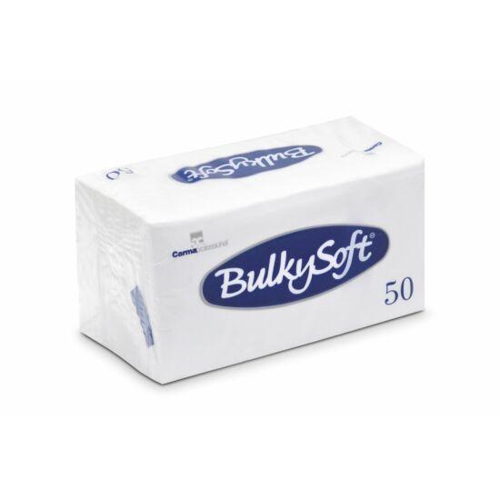 BulkySoft szalvéta fehér 2rtg 33x33cm 1/8 40x50db/gyűjtő