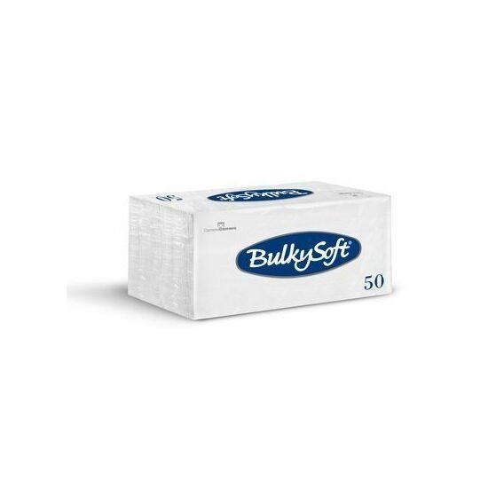 BulkySoft szalvéta fehér 2rtg 38x38cm 1/8 40x50db/gyűjtő