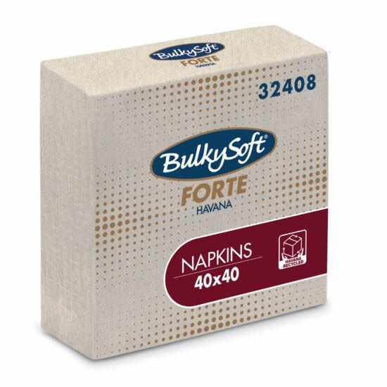 BulkySoft forte havana szalvéta 2rtg 40x40cm 20x100db/gyűjtő