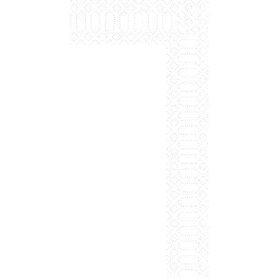 Duni szalvéta fehér 3rtg 33x33cm 1/8 4x250db/gyűjtő