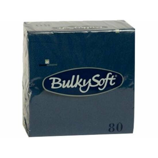 BulkySoft rainbow szalvéta kék 3 rtg 33x33cm, 20x80db/gyűjtő