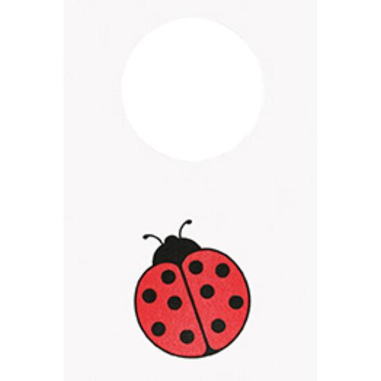Dunicel előke Ladybird 60x40cm 8x50db/gyűjtő
