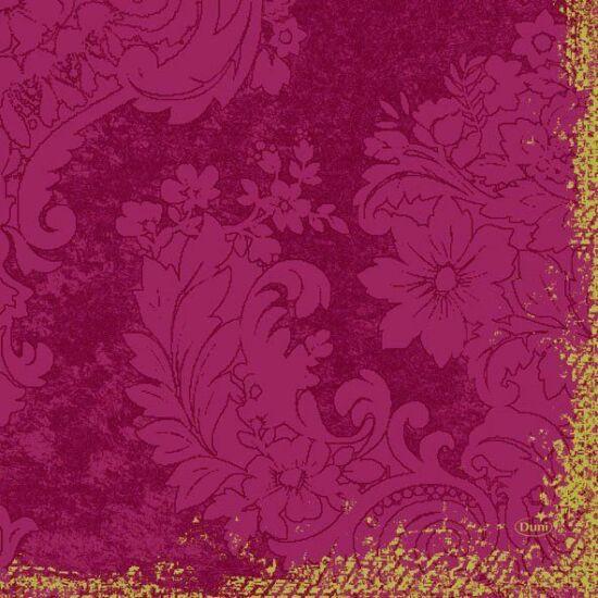 Duni szalvéta Royal bordeaux 3rtg 33x33cm 4x250db/gyűjtő