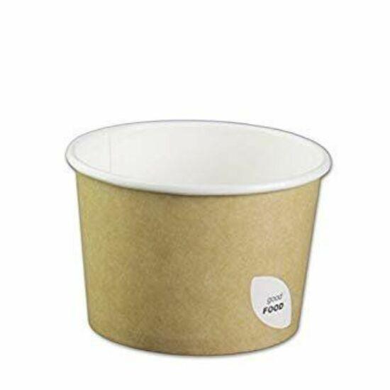 Duni Ecoecho leveses pohár barna 550ml 10x50db/gyűjtő