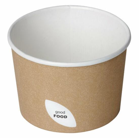 Duni Ecoecho leveses pohár barna 250ml 8x50db/gyűjtő