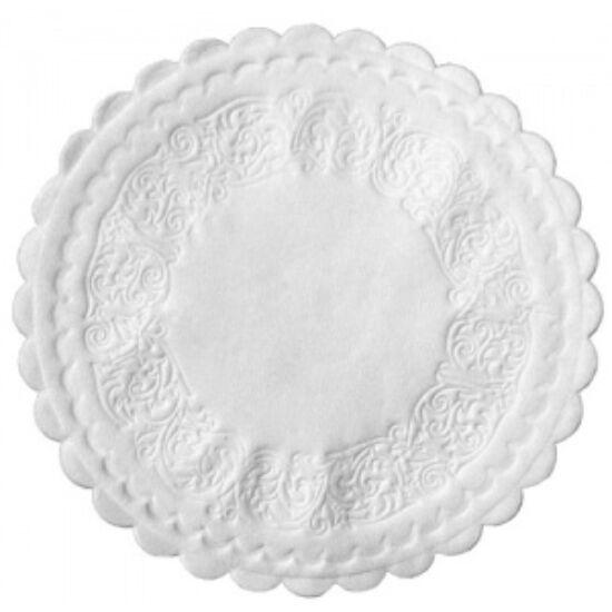 Duni poháralátét fehér 8rtg D9 20x500db/gyűjtő