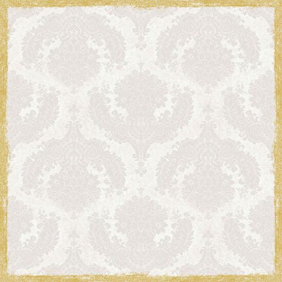 Dunisilk+ asztalközép Royal white 84x84cm 5x20db/gyűjtő