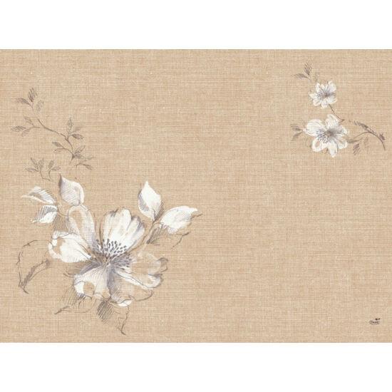 Duni papír alátét Floris 30x40cm 4x250db/gyűjtő