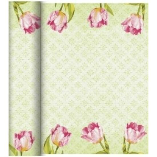 Dunicel Téte-a-Téte asztali futó Love tulips 0,4x24m 4tek/gyűjtő