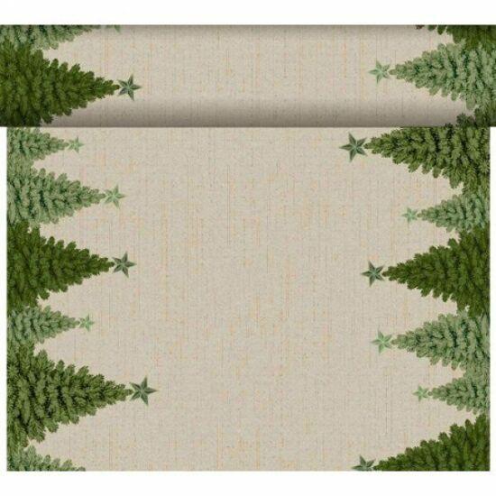 Dunicel Téte-a-Téte asztali futó Fir Forest 0,4x24m 4tek/gyűjtő