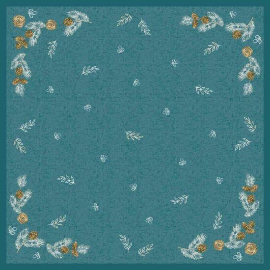 Dunisilk asztalközép Pine cones 84x84cm 5x20db/gyűjtő