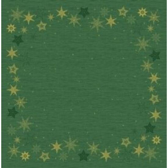 Dunicel asztalközép Star stories green 84x84cm 5x20db/gyűjtő