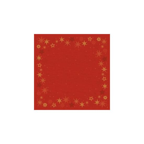 Dunicel asztalközép Star stories red 84x84cm 100db/gyűjtő