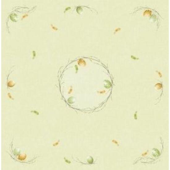 Dunicel asztalközép Easter pasture 84x84cm 5x20db/gyűjtő