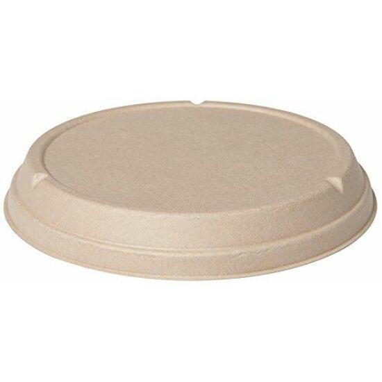 Duni Ecoecho Bagasse salátástál tető barna 177000/177002 tálkához 8x40db/gyűjtő