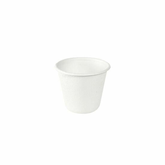 Duni Ecoecho Bagasse öntetes tálka fehér 85ml 10x150db/gyűjtő