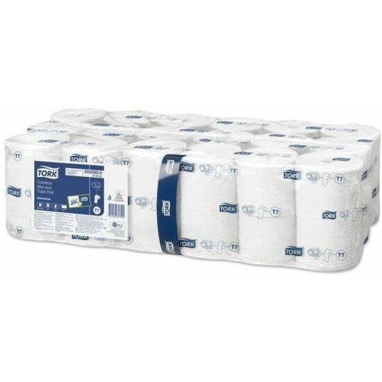 Tork Advanced Belsőmag nélküli Mid-size toalettpapír 2rtg 103,5m 9,3cm D:13,1cm 900lap fehérített 36tek/csom