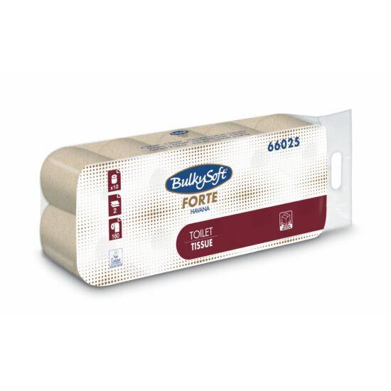 BulkySoft forte havana kistekercses toalettpapír 2rtg 160lap 17m 12x10tek/gyűjtő