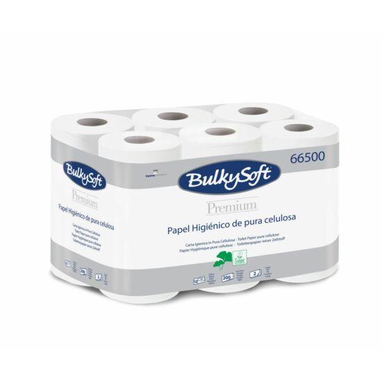 BulkySoft premium kistekercses toalettpapír 2rtg 200lap 24m cell 8x12tek/gyűjtő