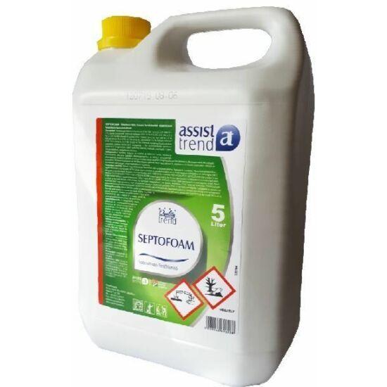 Trend Quality Septofoam habosítható fertőtlenítőszer 5kg 4kanna/gyűjtő