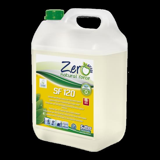 Sutter Zero SF 120 szuperaktív természetes zsíroldó tisztítószer 5kg 4kanna/gyűjtő