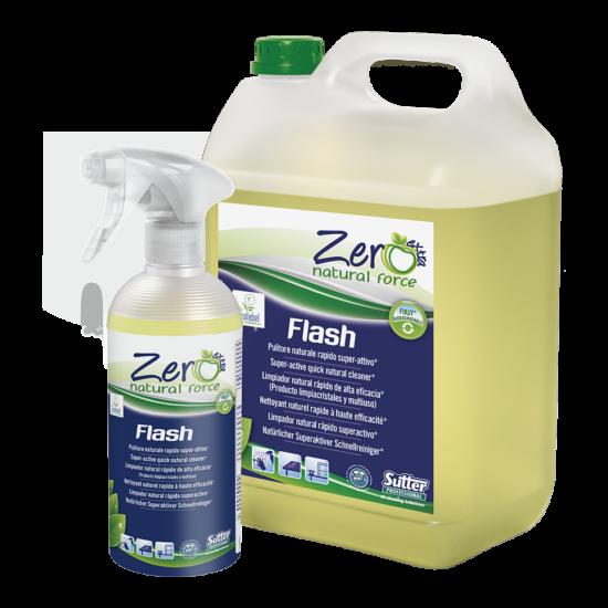 Sutter Zero Flash környezetbarát szuper-aktív gyors tisztítószer 500ml 12db/gyűjtő