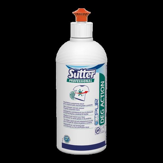 Sutter Deg Action folttisztító textilekhez zsíros szerves foltokra 500ml 6db/gyűjtő