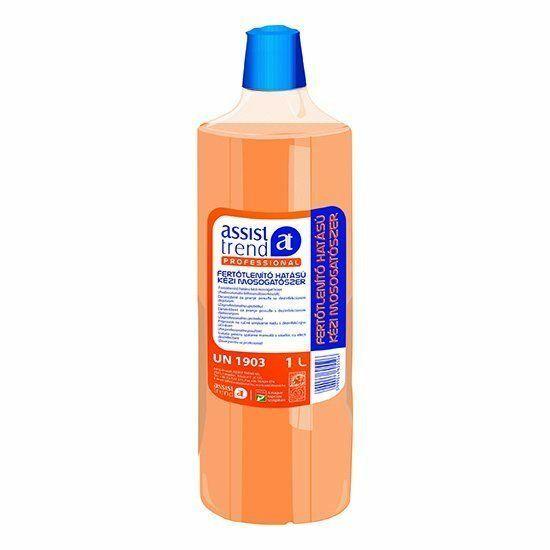 Assist-Professional Fertőtlenítő hatású kézi mosogató 1000ml 10flakon/zsugor