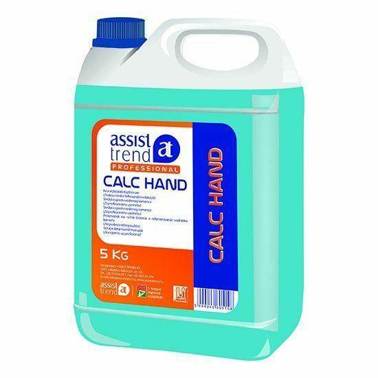 Assist-Professional Calc Hand kézi vízkőoldó tisztítószer 5kg 4kanna/karton