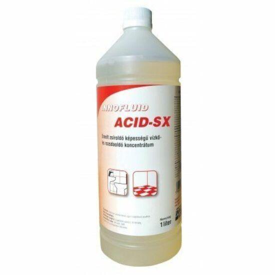 Innofluid Acid-SX magas zsíroldó hatású vízkőoldó, 1liter