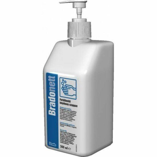 Bradonett fertőtlenítős folyékony szappan 500ml pumpás
