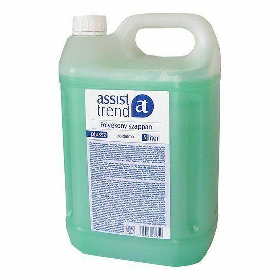 Trend Plusz folyékony szappan zöldalma illatú 5l