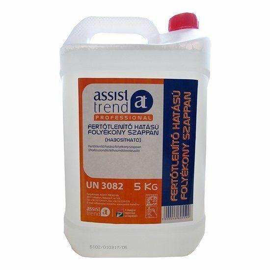 Assist-Professional Fertőtlenítő hatású folyékony szappan 5l