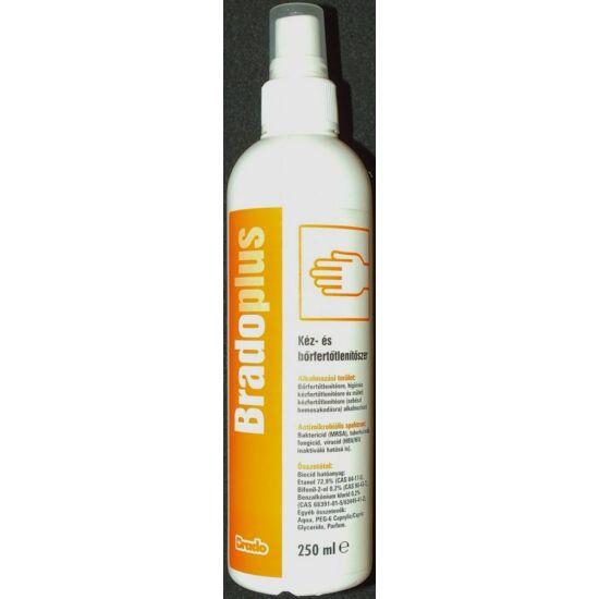 Bradoplus kéz- és bőrfertőtlenítő aerosol 250ml 10db/gyűjtő