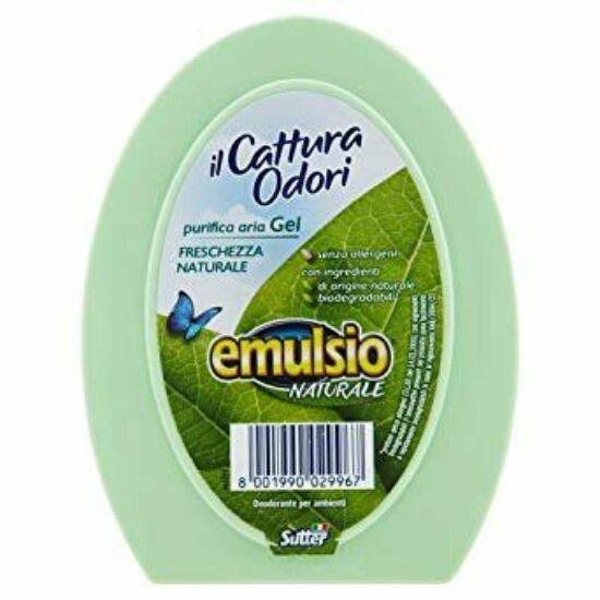 Sutter Emulsio ilCattura Odori Purifica Aria Gel szagtalanító légfrissítő gél természetes frissesség 150g 14db/gyűjtő