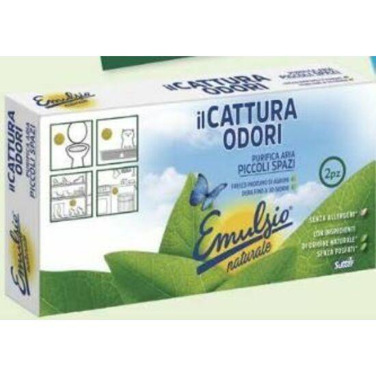 Sutter Emulsio ilCattura Odori Piccoli Spazi szagtalanító gél cipősszekrényhez és szemeteshez 2*20g 12csom/gyűjtő
