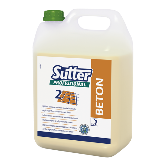 Sutter Beton padozatlezáró 5kg 4kanna/gyűjtő