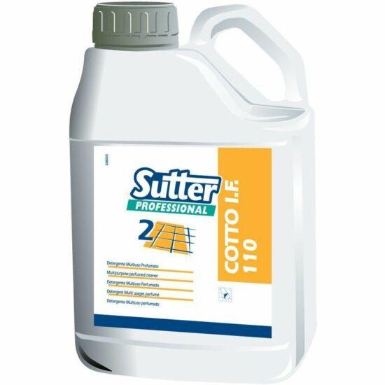 Sutter Cotto IF 110 oldószeres vízálló és olajálló impregnálószer kőpadlóra 5kg 4kanna/gyűjtő