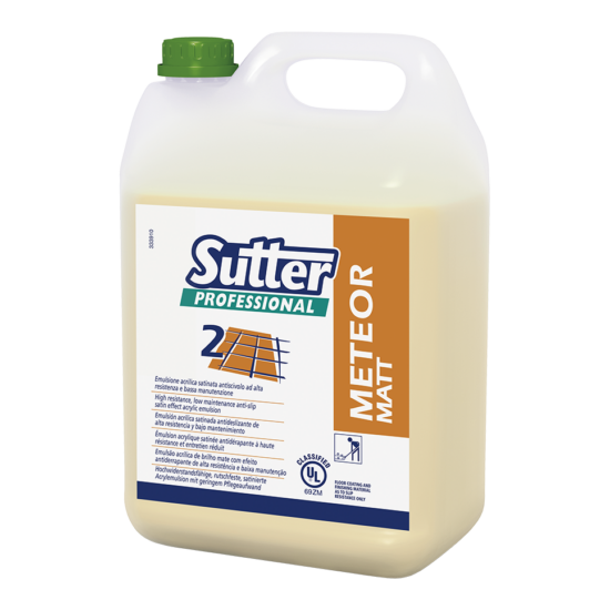 Sutter Meteor Matt Ul. matt fényű bevonószer rugalmas padlóra 5kg 4kanna/gyűjtő