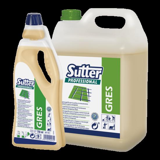Sutter Gres mikroporózus padlótisztító 750ml 6db/gyűjtő