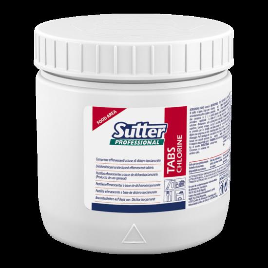 Sutter Tabs Chlorine felületfertőtlenítő 500mg 12db/gyűjtő