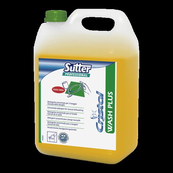 Sutter Wash Plus kézi mosogatószer 5kg 4kanna/gyűjtő