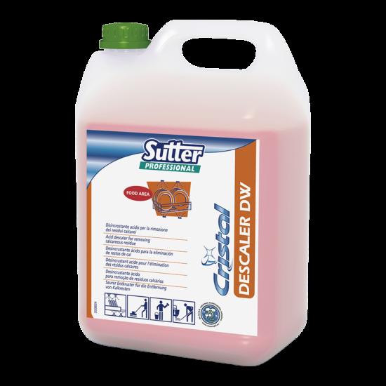 Sutter Descaler DW savas vízkőoldó 6kg 4kanna/gyűjtő